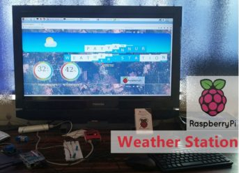 web interface for Raspberry Pi Weather Station Project