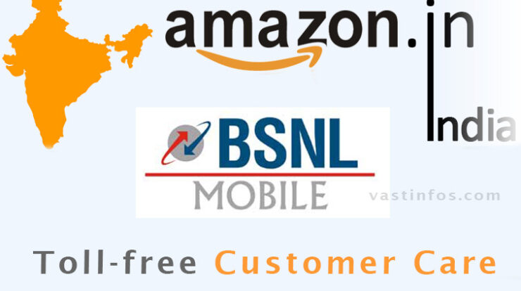 Amazon India Bsnl Tollfree Customer Care Number Vastinfos