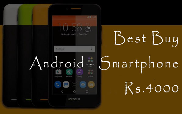 best buy Android smartphone under Rs5000