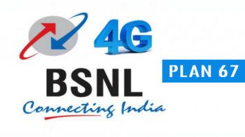 PLAN 67 bsnl free landline calling