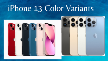 iPhone 13 Pro, Pro Max Color Variants available