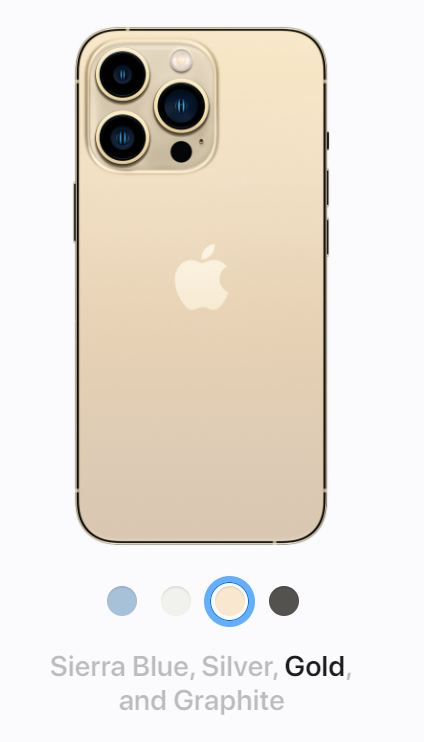 iPhone 13 Color Variants available